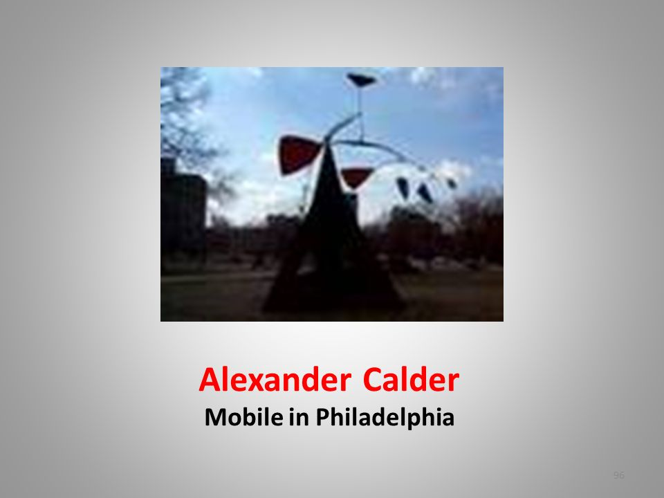 Alexander Calder Mobile in Philadelphia 96