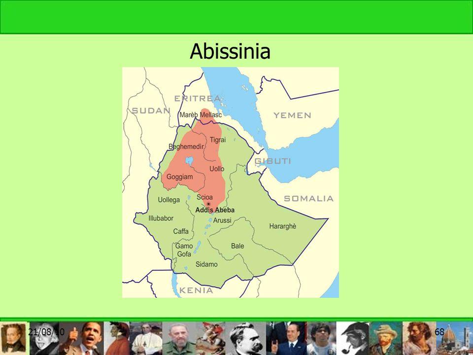 Abissinia 21/08/1068