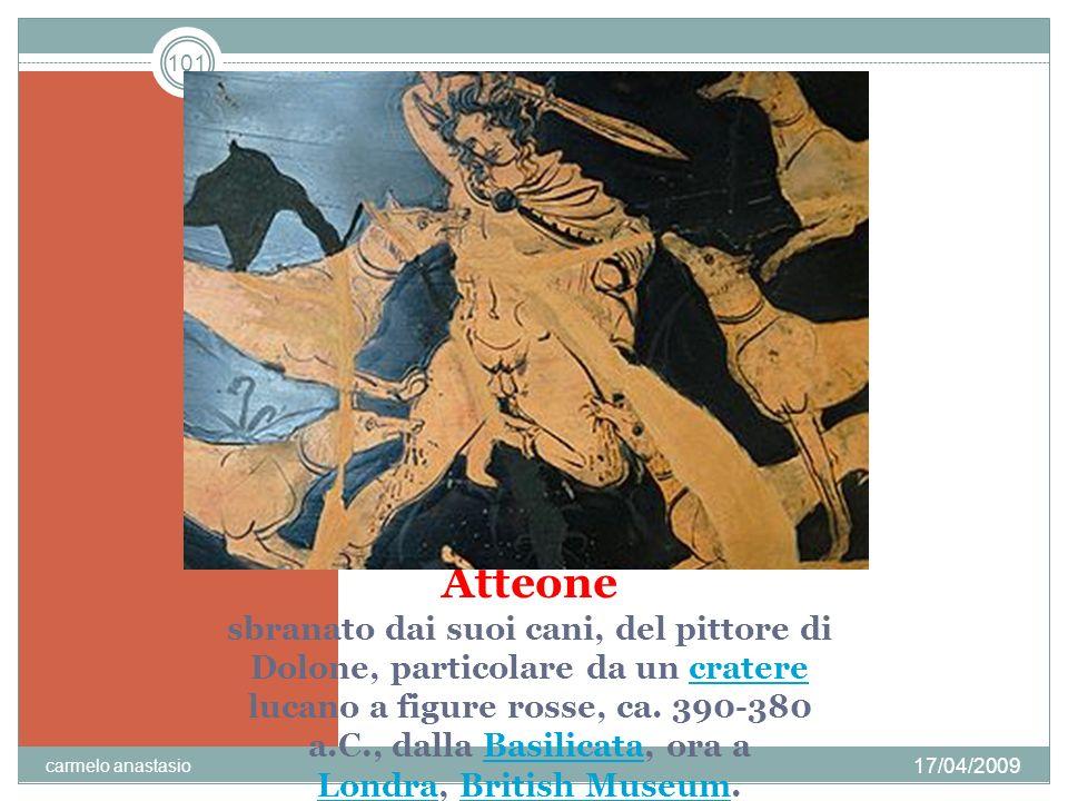 102 TIZIANO Diana e Atteone, 1516-18, olio su tela Diana e Atteone 151618 17/04/2009 carmelo anastasio