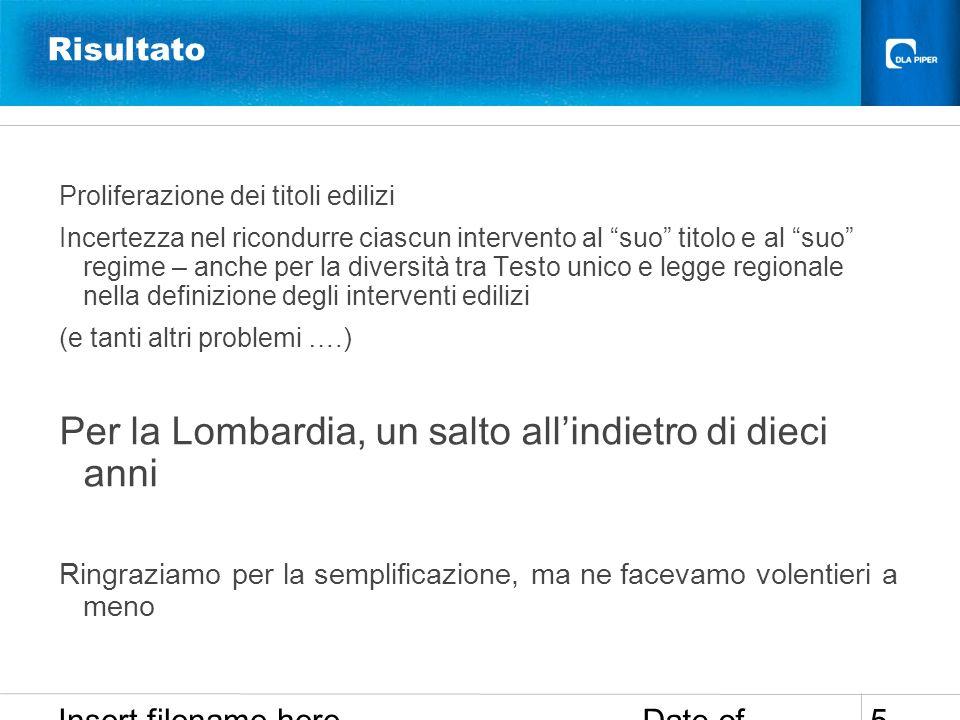 Date of presentation Insert filename here 16 Comunicazione (legge regionale n.