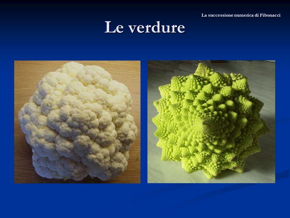 Le verdure La successione numerica di Fibonacci