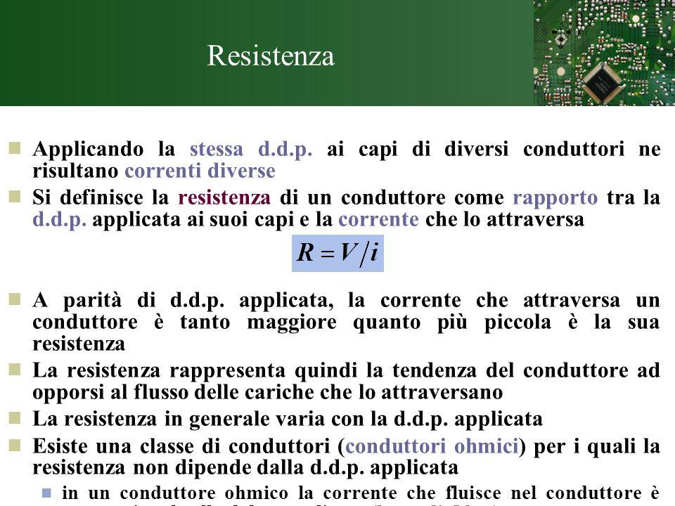 Amperometro: misura correnti connesso in serie: bisogna interrompere un ramo di circuito ed inserire lo strumento.