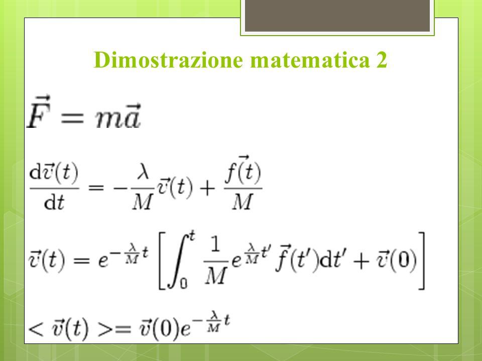 Dimostrazione matematica 2