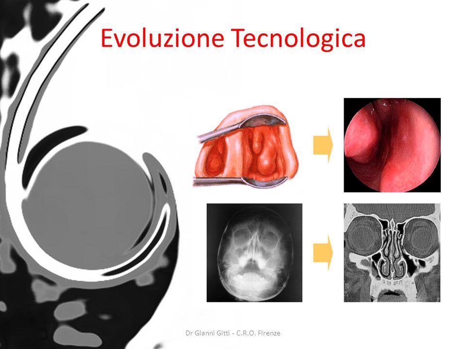 Evoluzione Tecnologica Dr Gianni Gitti - C.R.O. Firenze