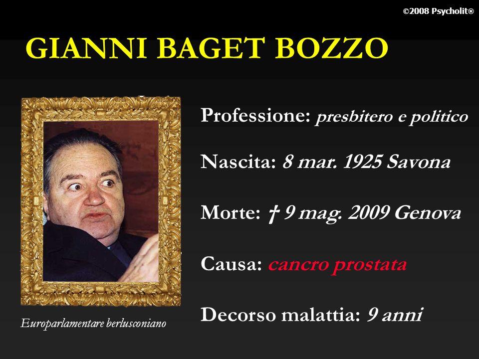 ILDA BARTOLINI Professione: giornalista Tg3 Nascita: Morte: 27 apr. 2009 Roma Causa: cancro Decorso malattia: anni Conduttrice di Tg3 Punto Donna © 20