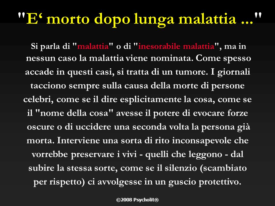 LORENZO TOMATIS Professione: oncologo, scienziato Nascita: 1929 Ancona Morte: 21 set.