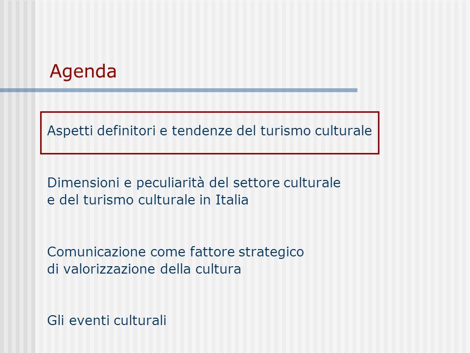 Turismo culturale vs.
