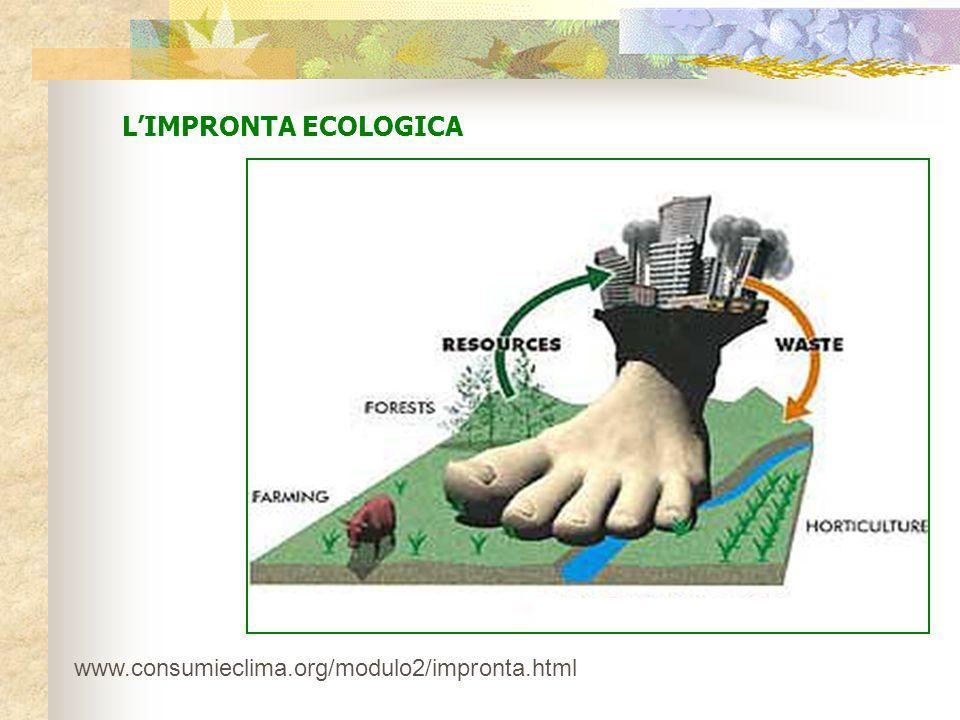 LIMPRONTA ECOLOGICA www.consumieclima.org/modulo2/impronta.html