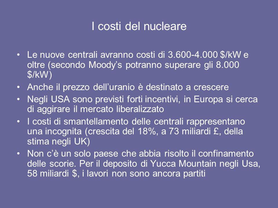 Nuova potenza elettrica (UE 2000-2007): le rinnovabili superano del 15% lincremento netto del termoelettrico