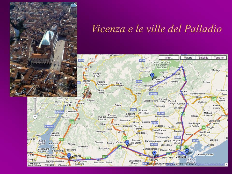Vicenza e le ville del Palladio