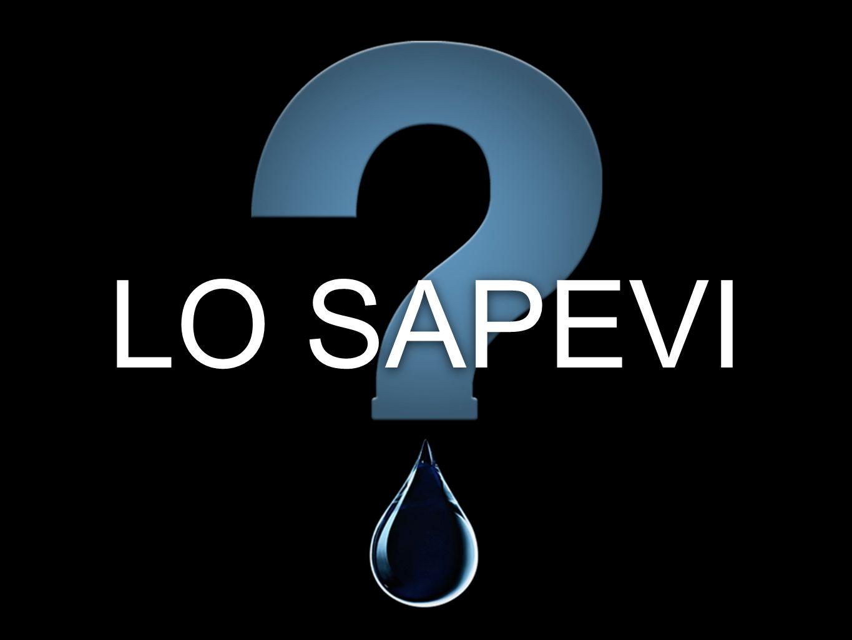 LO SAPEVI