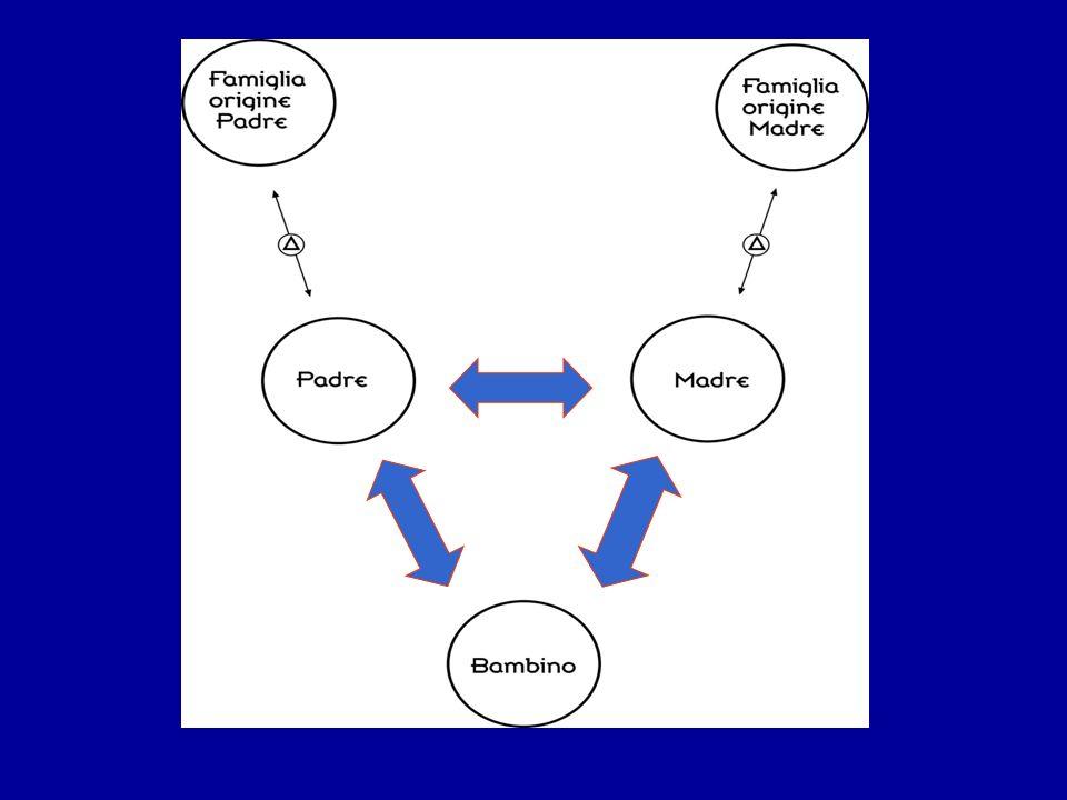 Funzione triadica La capacità dei genitori di avere tra loro una alleanza cooperativa, fatta di sostegno reciproco, capacità di lasciare spazio allaltro e di entrare in relazione empatica con il partner e con il bambino.