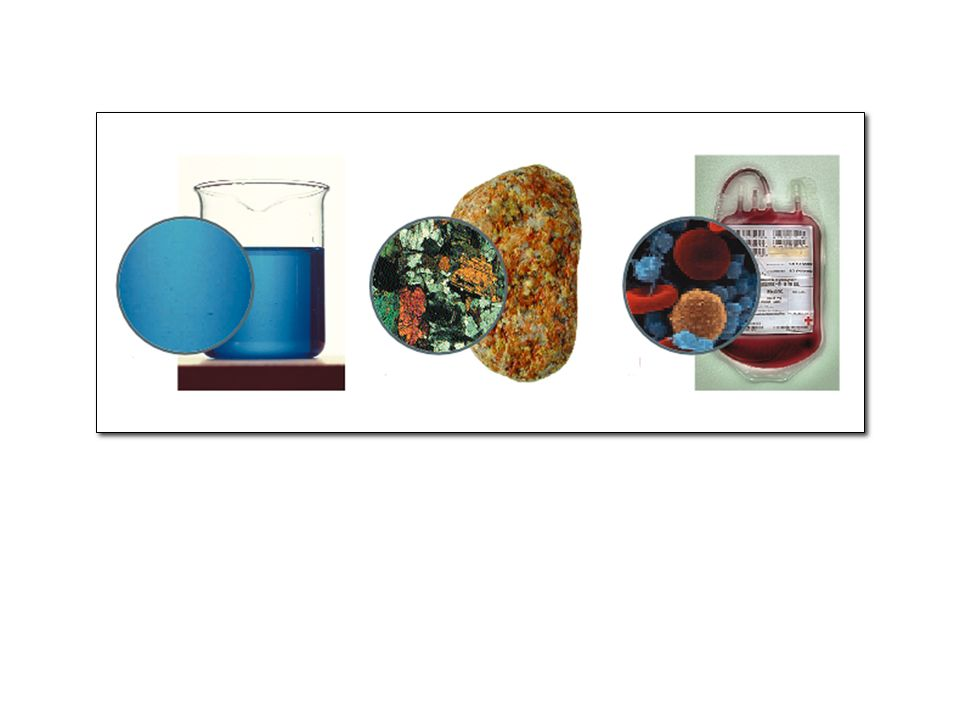 4 Un miscuglio eterogeneo è costituito da più fasi.