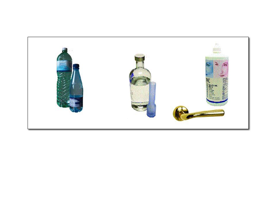7 solvente: il componente più abbondante; soluti: i componenti presenti in minore quantità.
