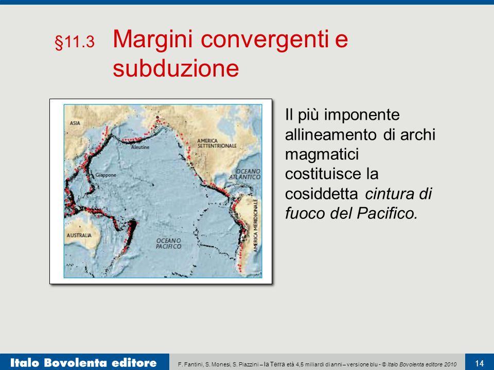 F. Fantini, S. Monesi, S. Piazzini – la Terra età 4,5 miliardi di anni – versione blu - © Italo Bovolenta editore 2010 14 Il più imponente allineament