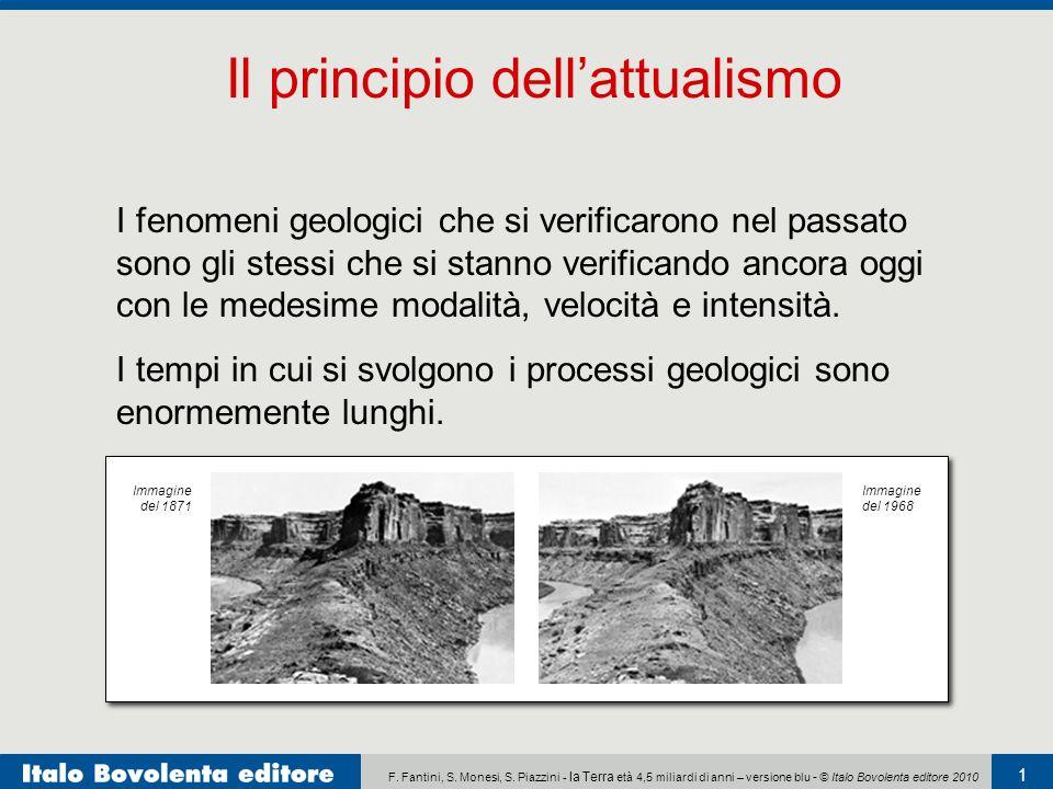 F. Fantini, S. Monesi, S. Piazzini - la Terra età 4,5 miliardi di anni – versione blu - © Italo Bovolenta editore 2010 1 I fenomeni geologici che si v