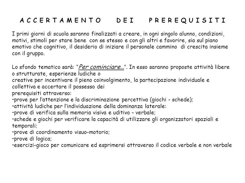 U.A. n. 1 AREA LINGUISTICO - ARTISTICO – ESPRESSIVA - Italiano O.S.A.