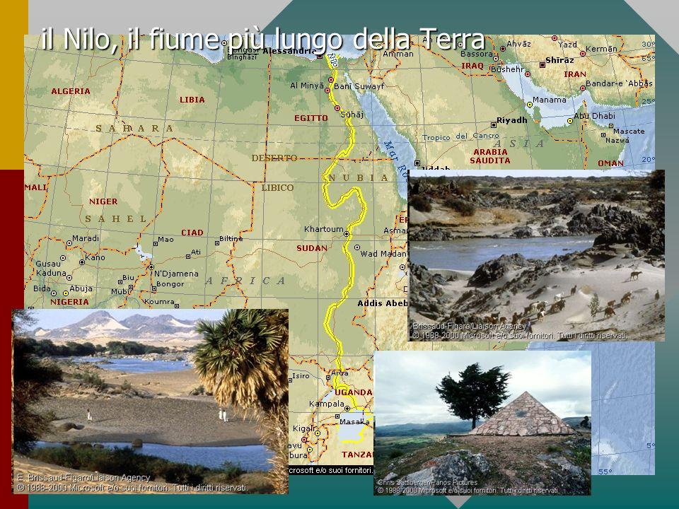 il Nilo, il fiume più lungo della Terra