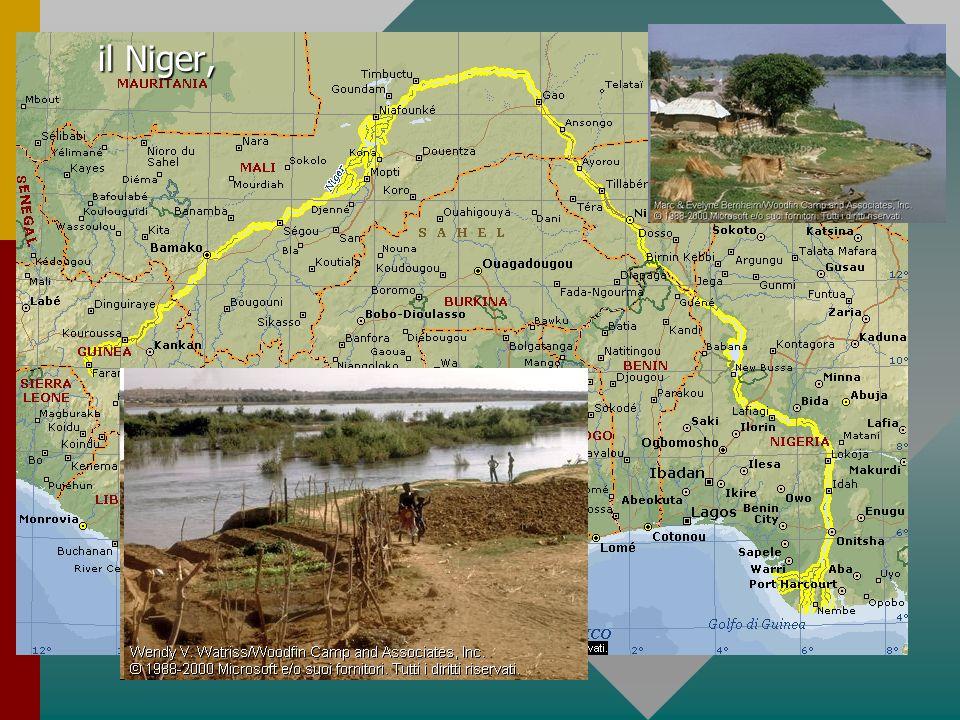 il Nilo e lo Zambesi,