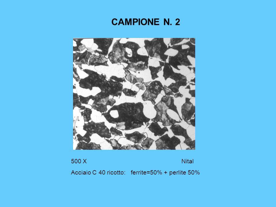 CAMPIONE N. 9 500xNital 3 Ghisa lamellare perlitica + solfuro