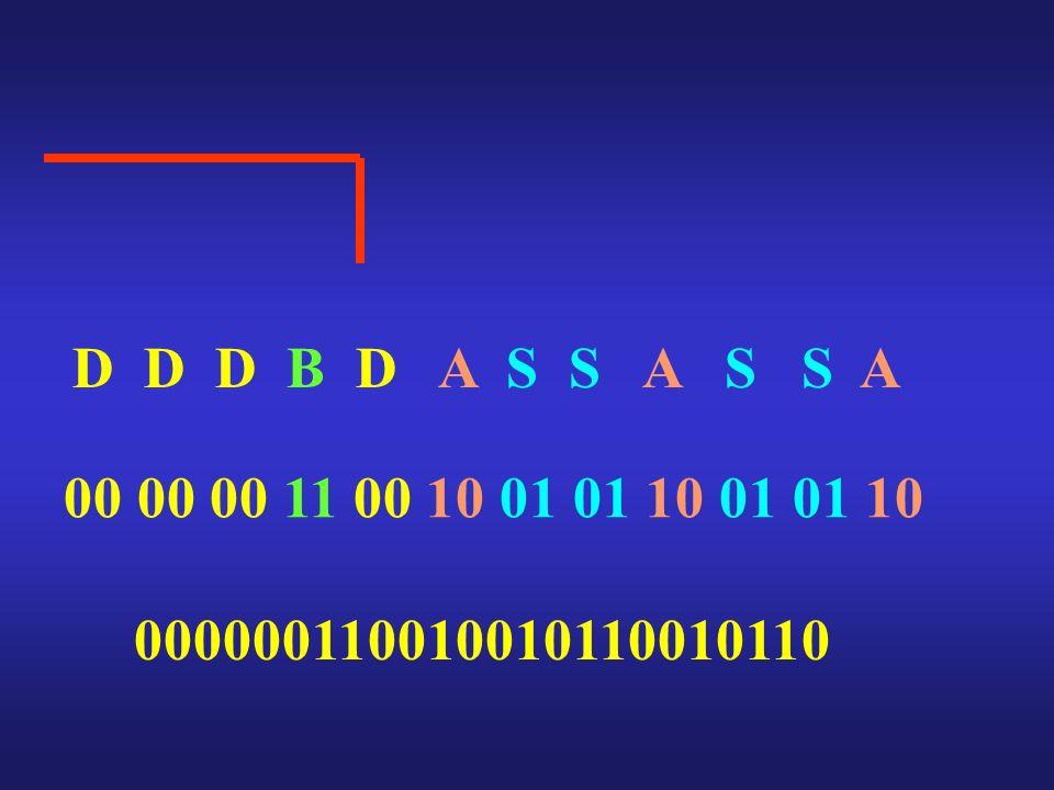 D D D B D A S S A S S A 00 00 00 11 00 10 01 01 10 01 01 10