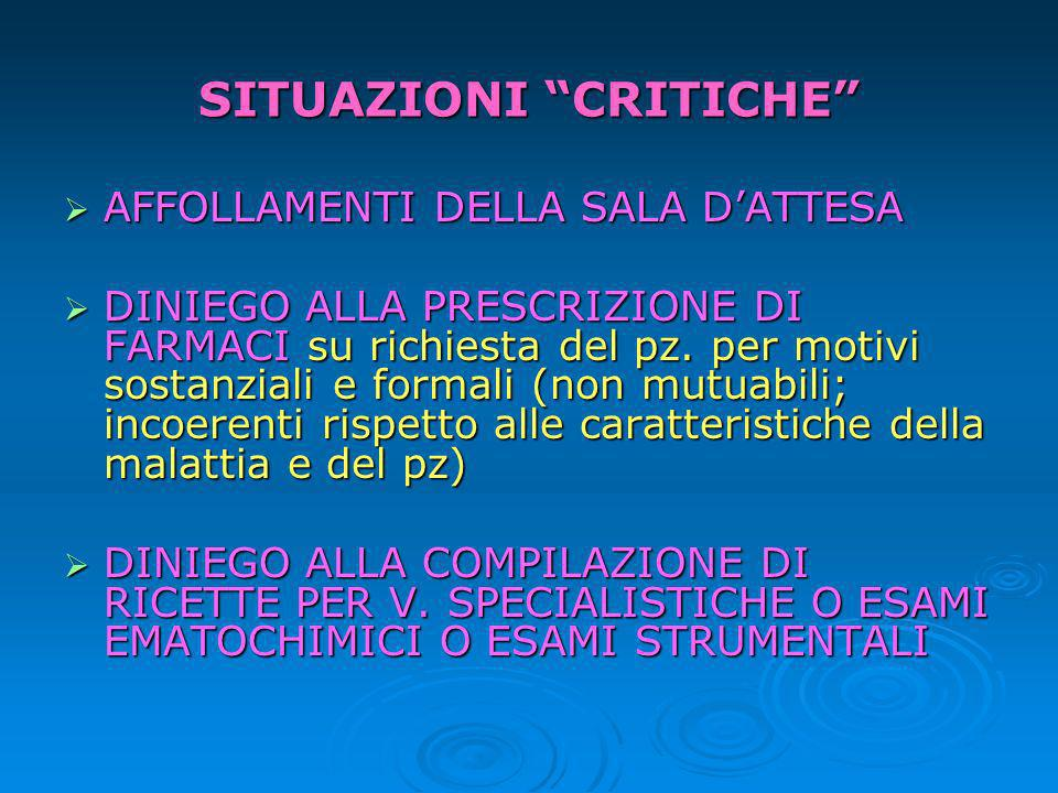 STRESS E SITUAZIONI CRITICHE Lo stress: risposta (generale) aspecifica a qualsiasi richiesta proveniente dallambiente (Selye,1974).