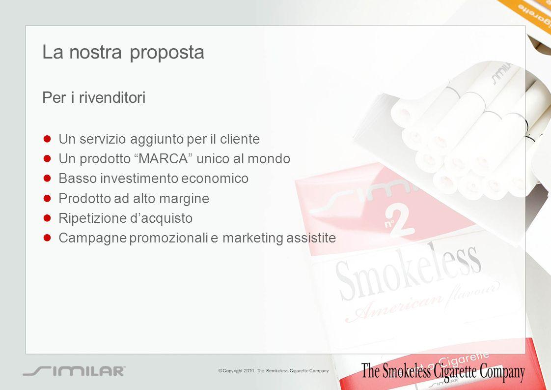La nostra proposta Per i rivenditori Un servizio aggiunto per il cliente Un prodotto MARCA unico al mondo Basso investimento economico Prodotto ad alt
