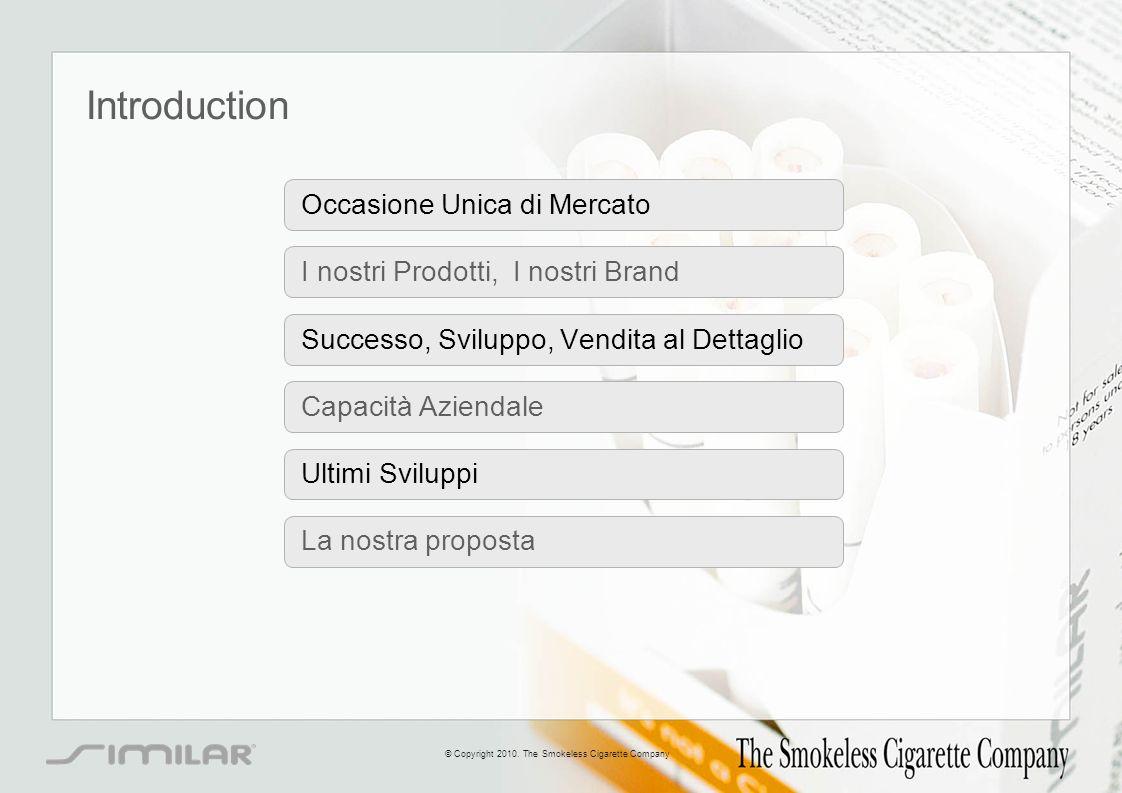 Introduction Occasione Unica di Mercato I nostri Prodotti, I nostri Brand Successo, Sviluppo, Vendita al Dettaglio Capacità Aziendale Ultimi Sviluppi