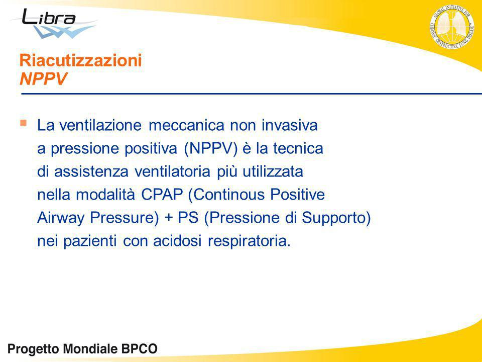 La ventilazione meccanica non invasiva a pressione positiva (NPPV) è la tecnica di assistenza ventilatoria più utilizzata nella modalità CPAP (Contino