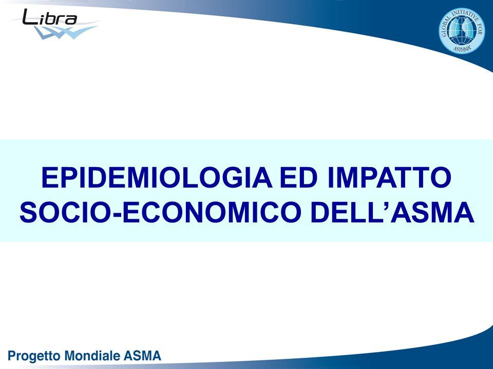 EPIDEMIOLOGIA ED IMPATTO SOCIO-ECONOMICO DELLASMA