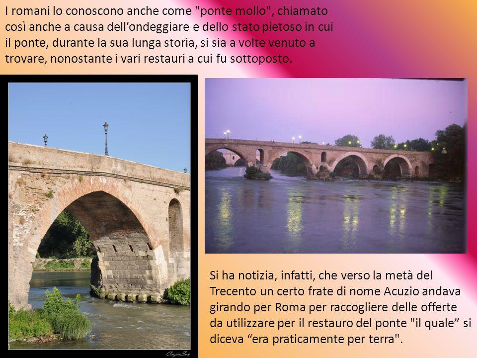 Nel 110 a.C.fu ricostruito in muratura.