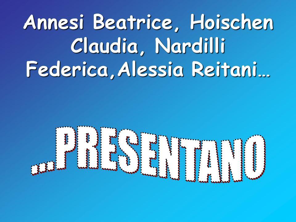 Annesi Beatrice, Hoischen Claudia, Nardilli Federica,Alessia Reitani…
