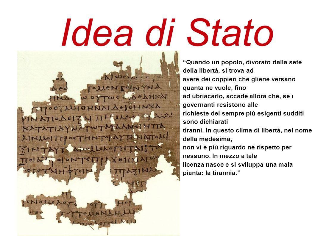La Repubblica come paradigma dello Stato ideale.I filosofi sono la classe meritevole di governare.