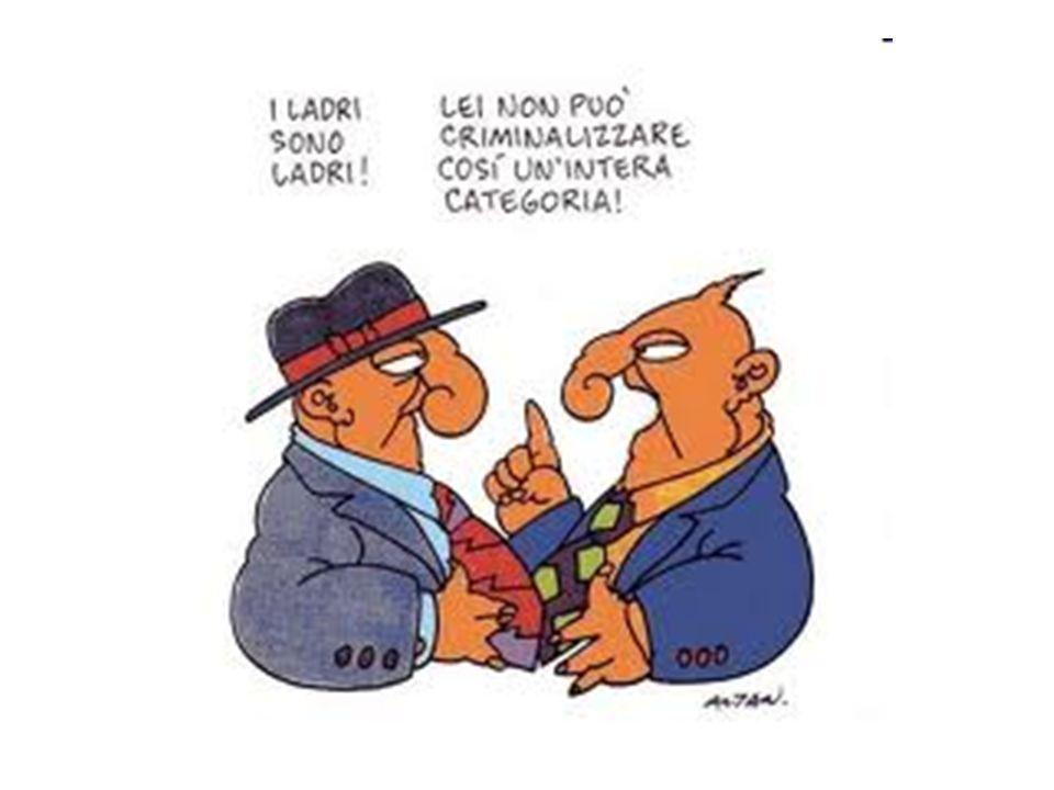 La corruzione rafforza le mafie Il sistema degli appalti funziona in Sicilia come funziona in Italia.