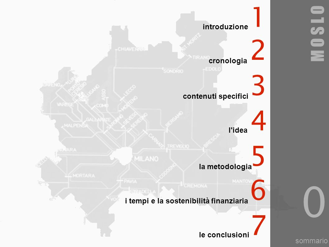 informazioni generali mobilità sostenibile in Lombardia consulta regionale lombarda degli ordini degli architetti P.P.C.