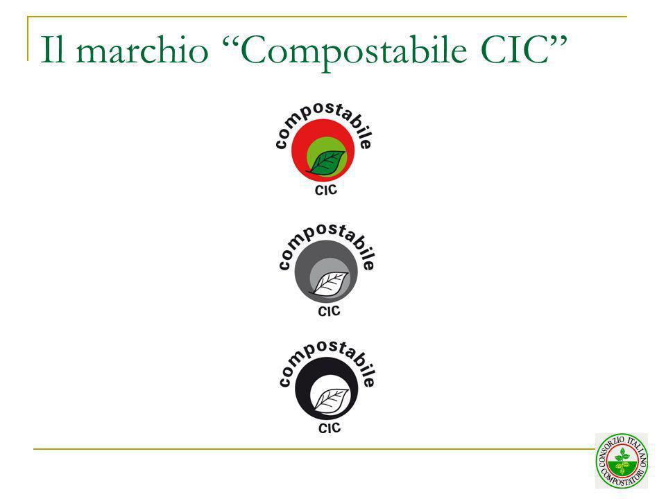 Il marchio Compostabile CIC