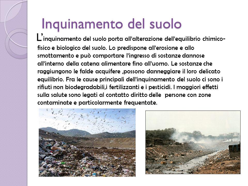 Inquinamento Del Suolo Immagini Inquinamento Del Suolo l