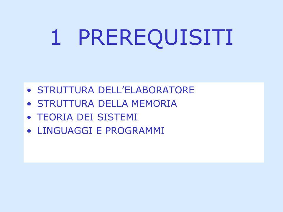 Requisiti precedenti Contenuti Verifiche Bibliografia Maura Zini