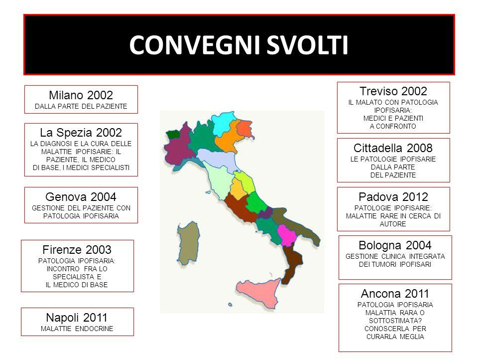 2002: NASCE LANIPI VENETO ISCRITTI NR. 8 2012: NR.100 SOCI ANIPI Regione Veneto