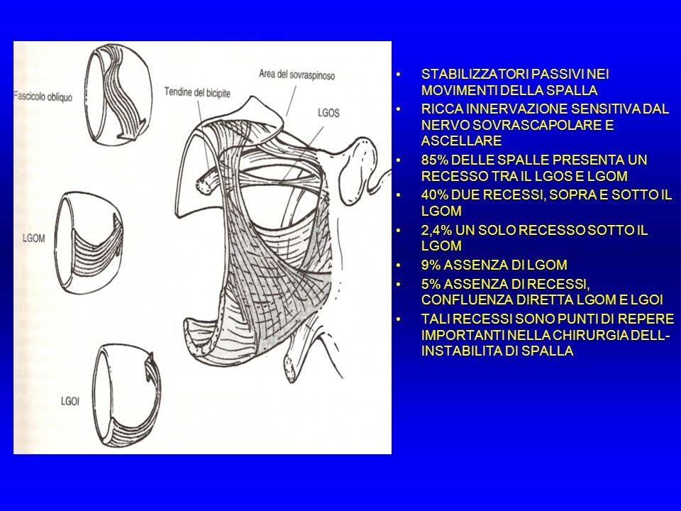 DEGENERAZIONE TENDINEA Neer CS II Impingement Lesions Clin.