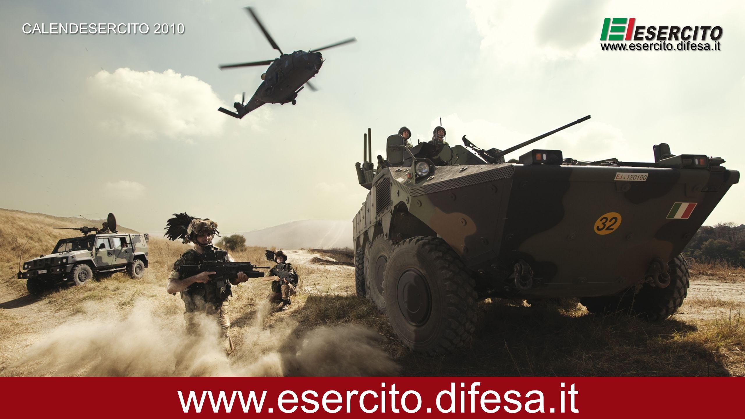 CALENDESERCITO 2010 www.esercito.difesa.it