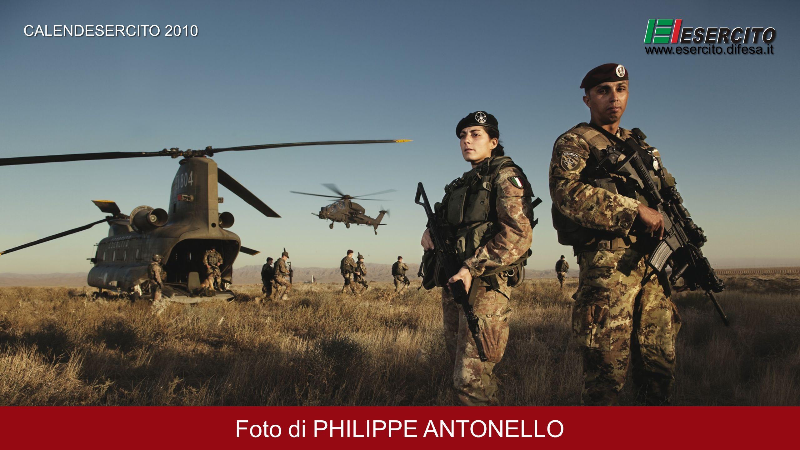 Foto di PHILIPPE ANTONELLO CALENDESERCITO 2010 www.esercito.difesa.it