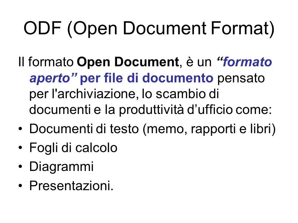 XML – based languages Numerose interfacce di programmazione generica (es.