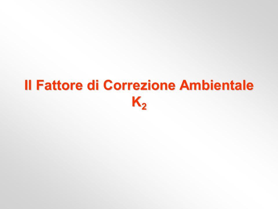 Il Fattore di Correzione Ambientale K 2