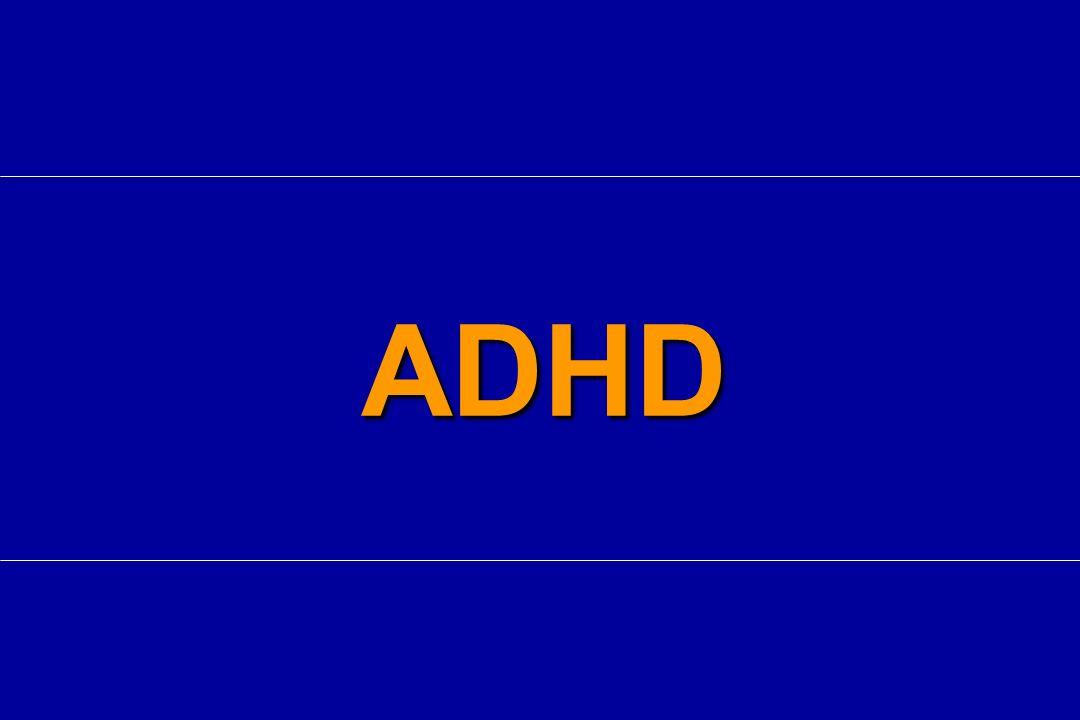 Ridotto metabolismo/flusso in lobo frontale corteccia parietale striato cervelletto Aumentati flusso ed attività elettrica in corteccia sensitivo-motoria Attivazione di altre reti neuronali ADHD Alterazioni neurofisiologiche Kuperman S.
