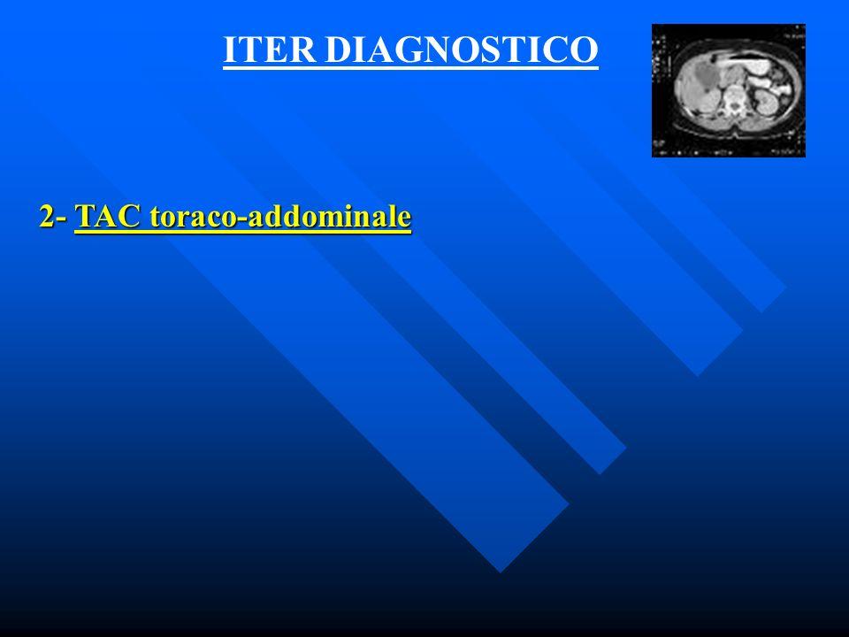 ITER DIAGNOSTICO 3- EGDS Il ginocchio duodenale superiore è ostruito da grossolana neoplasia (infiltrazione da processo estrinseco?)