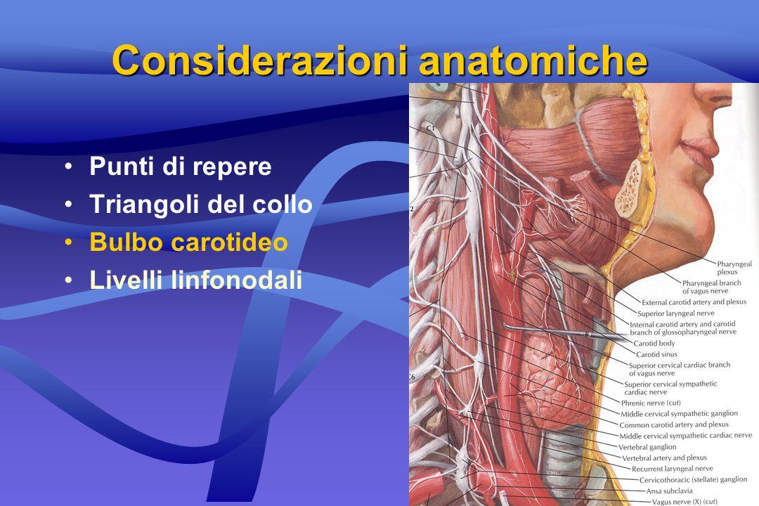 Masse flogistiche LinfadeniteLinfadenite Ascessi spazi profondiAscessi spazi profondi del collo del collo