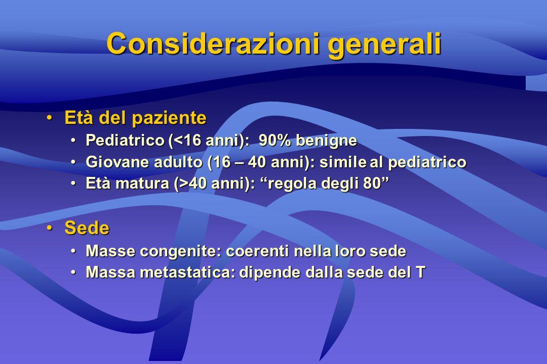 Masse cervicali pediatriche Congenite Infiammatorie Neoplastiche