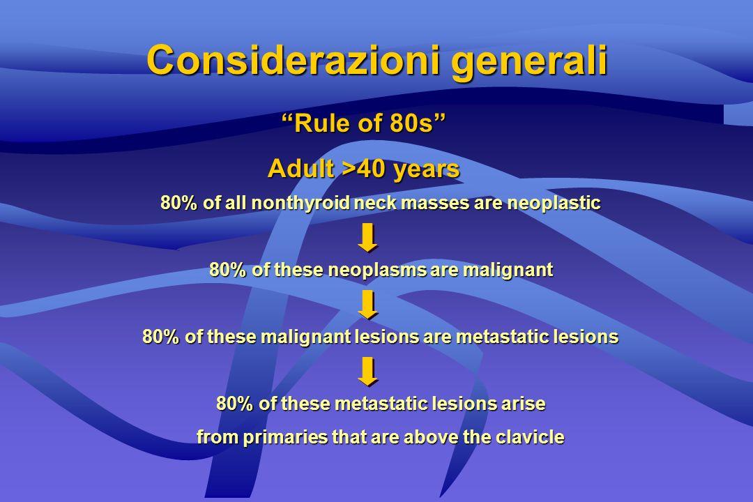 Età 0-15 anni Ipotesi flogisica: la più probabile Causa neoplastica: la più rara