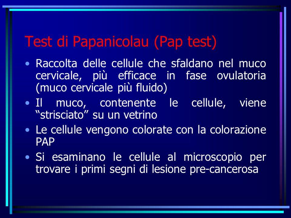 Pap-test normalecellule neoplastiche